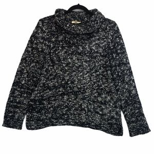Eileen Fisher Chunky Cowl Neck Knit Sweater